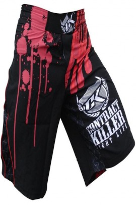 Contract Killer Shorts Bloodsport schwarz