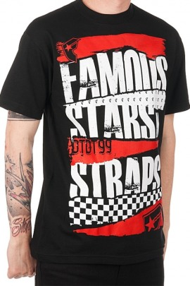 Famous Stars and Straps Shirt Damages