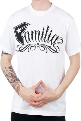 Famous Stars and Straps Shirt Familia weiss