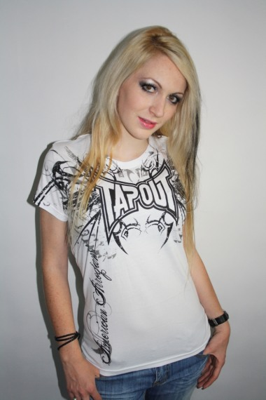 Tapout Shirt Darkside weiss