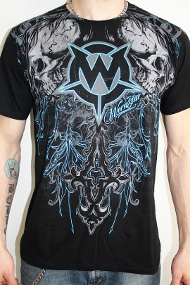 Wornstar Shirt Immortal blau