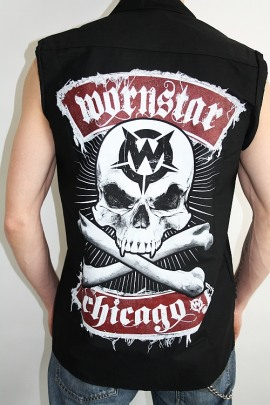 Wornstar Workshirt Skull