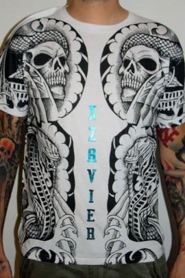 Xzavier Shirt Body Tattoo White