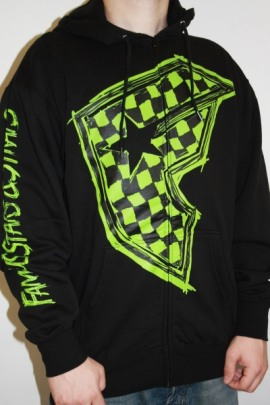 Famous Stars and Straps Zip Hoodie Check It