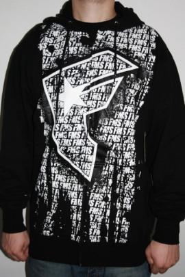 Famous Stars and Straps Zip Hoodie Dirty Street