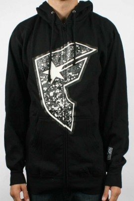 Famous Stars and Straps Zip Hoodie Odyssey