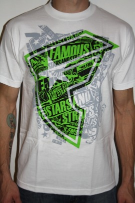 Famous Stars and Straps Shirt Stone Pop
