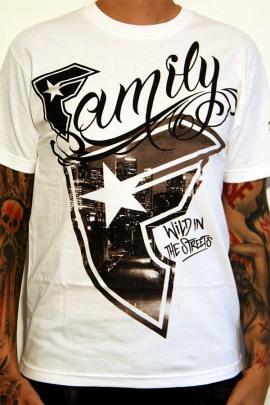 Famous Shirt Wild City White