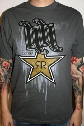 Hart and Huntington Shirt Drip Rockstar Energy