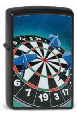 Zippo Darts Bullseye