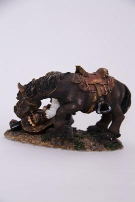 Figur Cowboy mit Pferd