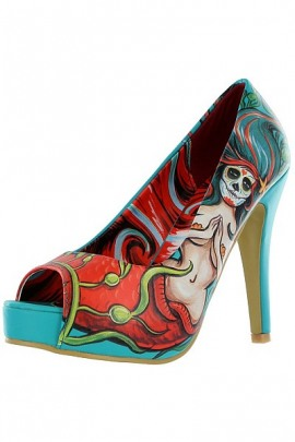 Iron Fist High Heels Sailor Sinker Platform