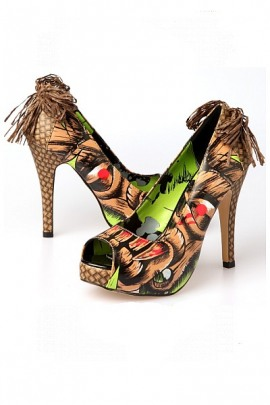 Iron Fist High Heels Tiki Toes Platform