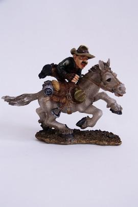Figur Cowboy Pferd