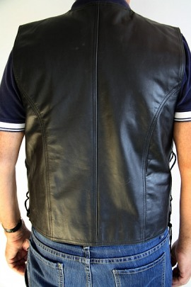 Gilet Real Leather