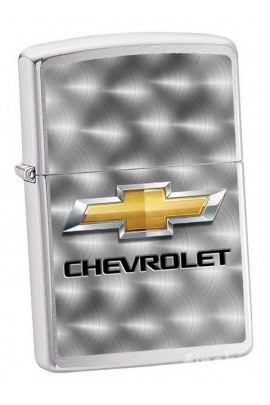 Zippo Chevrolet Chrome Brushed