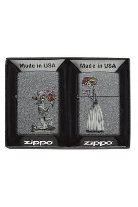 Zippo Day of The Dead Set 2 Stück