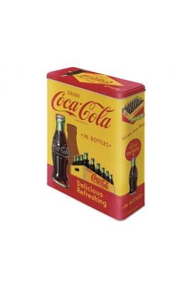 Nostalgic Art Coca Cola Dose Gelb