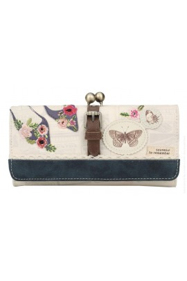Vendula London Butterfly Daisy Frame Wallet