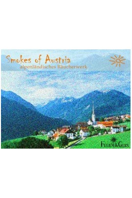 Räucherkasten Smokes of Austria Feuer und Glas