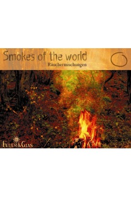 Räucherkasten Smokes of the World Feuer und Glas