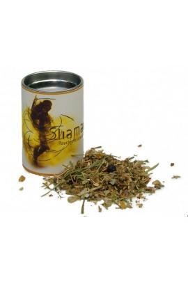 Räuchermischung Shaman klein Feuer und Glas