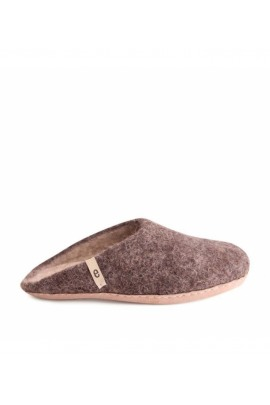 Egos Slipper Natural Brown