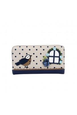 Vendula London Birdhouse Ziparound Wallet