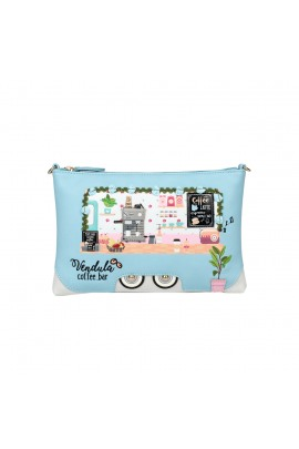 Vendula London Coffee Truck Pouch Bag