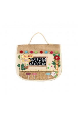 Vendula London Tiki Bar Mini Saddle Bag