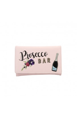 Vendula London Prosecco Bar Tri-Fold Wallet