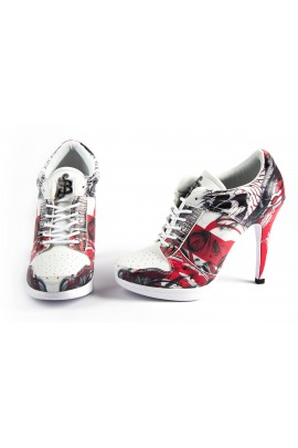 Barmetal Sport High Heels Knowledge is Power