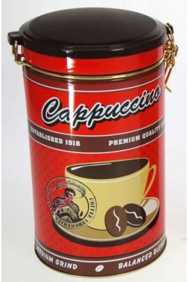 KAFFEEDOSE CAPPUCINO ROT 500g