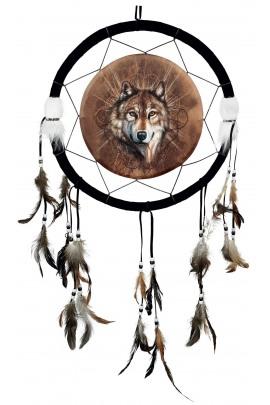 Traumfänger Wolf
