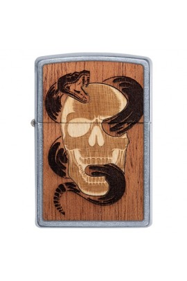 Zippo Woodchuck Skull & Snake