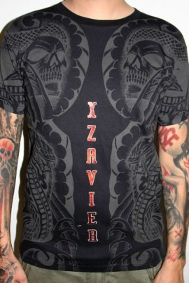 Xzavier Shirt Body Tattoo