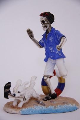 Figur Skelett Mayer Chess