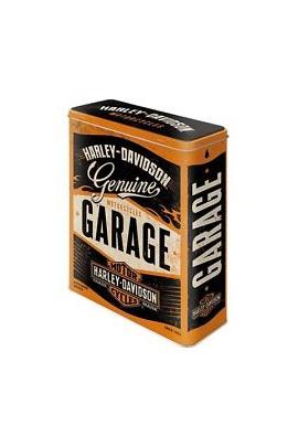 Nostalgic Art Harley Davidson Garage