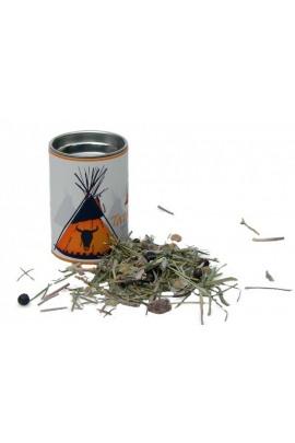 Räuchermischung Tatanka klein Feuer und Glas