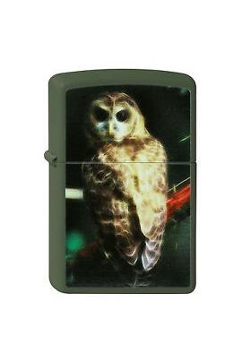 Zippo Fractal Owl