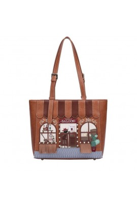 Vendula Saloon Shopper Bag