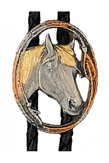 Bolo Tie Horsehead