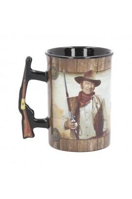 Nemesis Now Mug John Wayne A Mans Gotta Do Tasse