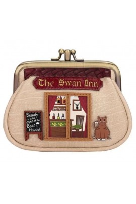 Vendula The Swan Inn Pub Clipper Coin Purse