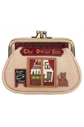 Vendula The Swan Inn Pub Clipper Coin Purse