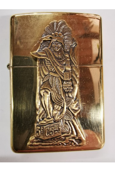 Zippo Gold Häuptling 1