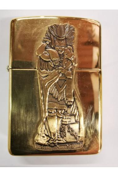 Zippo Gold Häuptling 4